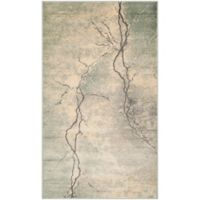 Safavieh Constellation Vintage 2-Foot x 3-Foot Bri Rug in Light Grey/Multi