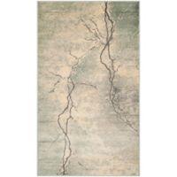 Safavieh Constellation Vintage 3-Foot 3-Inch x 5-Foot 7-Inch Bri Rug in Light Grey/Multi