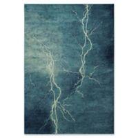 Safavieh Constellation Vintage 5-Foot 3-Inch x 7-Foot 6-Inch Bri Rug in Turquoise/Multi