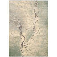 Safavieh Constellation Vintage 6-Foot 7-Inch x 9-Foot 2-Inch Bri Rug in Light Grey/Multi