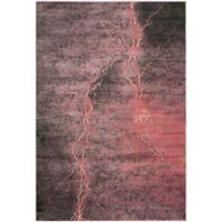 Safavieh Constellation Vintage 6-Foot 7-Inch x 9-Foot 2-Inch Bri Rug in Blush/Multi