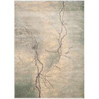 Safavieh Constellation Vintage 8-Foot 10-Inch x 12-Foot 2-Inch Bri Rug in Light Grey/Multi