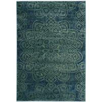 Safavieh Constellation Vintage 3-Foot 3-Inch x 5-Foot 7-Inch Area Rug in Light Blue