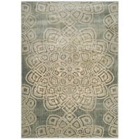 Safavieh Constellation Vintage 4-Foot x 5-Foot 7-Inch Area Rug in Light Grey