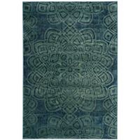 Safavieh Constellation Vintage 4-Foot x 5-Foot 7-Inch Area Rug in Light Blue