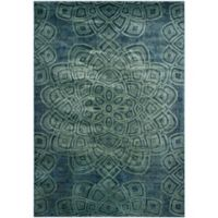 Safavieh Constellation Vintage 8-Foot x 11-Foot 2-Inch Area Rug in Light Blue
