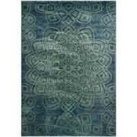 Safavieh Constellation Vintage 8-Foot 10-Inch x 12-Foot 2-Inch Area Rug in Light Blue