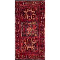 Safavieh Vintage Hamadan Azar 2-Foot 7-Inch x 5-Foot Accent Rug in Red