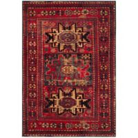 Safavieh Vintage Hamadan Azar 5-Foot 3-Inch x 7-Foot 6-Inch Area Rug in Red