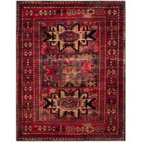 Safavieh Vintage Hamadan Azar 8-Foot x 10-Foot Area Rug in Red