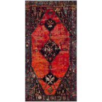 Safavieh Vintage Hamadan 2-Foot 7-Inch x 5-Foot Farzin Rug in Orange