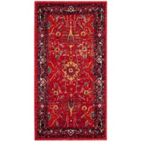 Safavieh Vintage Hamadan 2-Foot 7-Inch x 5-Foot Jasmin Rug in Orange