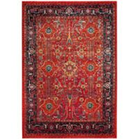 Safavieh Vintage Hamadan 5-Foot 3-Inch x 7-Foot 6-Inch Jasmin Rug in Orange
