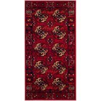 Safavieh Vintage Hamadan 2-Foot 7-Inch x 5-Foot Zara Rug in Red