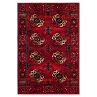 Safavieh Vintage Hamadan 5-Foot 3-Inch x 7-Foot 6-Inch Zara Rug in Red
