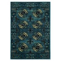Safavieh Vintage Hamadan 5-Foot 3-Inch x 7-Foot 6-Inch Zara Rug in Blue