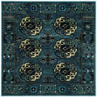Safavieh Vintage Hamadan 6-Foot 7-Inch x 6-Foot 7-Inch Zara Rug in Blue