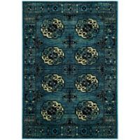 Safavieh Vintage Hamadan 6-Foot 7-Inch x 9-Foot Zara Rug in Blue