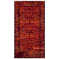 Safavieh Vintage Hamadan 2-Foot 7-Inch x 5-Foot Zima Rug in Orange
