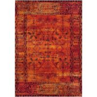 Safavieh Vintage Hamadan 4-Foot x 6-Foot Zima Rug in Orange