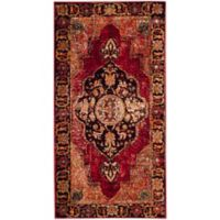 Safavieh Vintage Hamadan 2-Foot 7-Inch x 5-Foot Jahan Rug in Red