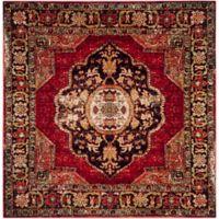 Safavieh Vintage Hamadan 5-Foot 3-Inch x 5-Foot 3-Inch Jahan Rug in Red
