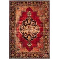 Safavieh Vintage Hamadan 6-Foot 7-Inch x 9-Foot Jahan Rug in Red