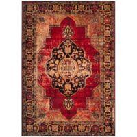 Safavieh Vintage Hamadan 6-Foot 7-Inch x 9-Foot Jahan Rug in Red