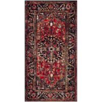 Safavieh Vintage Hamadan 2-Foot 7-Inch x 5-Foot Rahim Rug in Red
