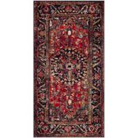 Safavieh Vintage Hamadan 2-Foot 7-Inch x 5-Foot Rahim Rug in Red
