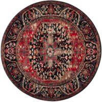 Safavieh Vintage Hamadan 6-Foot 7-Inch x 6-Foot 7-Inch Rahim Rug in Red