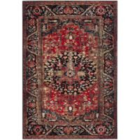 Safavieh Vintage Hamadan 6-Foot 7-Inch x 9-Foot Rahim Rug in Red