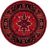 Safavieh Vintage Hamadan 6-Foot 7-Inch x 6-Foot 7-Inch Nala Rug in Red