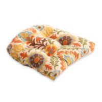 Pillow Perfect Santa Maria Chair Pad in Brown