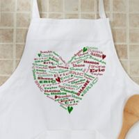 Her Heart Of Love Christmas Apron