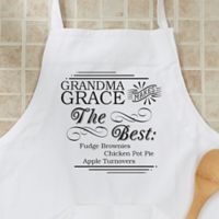 """""""She Makes The Best"""" Apron"""
