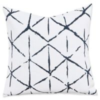 Everlast Firestar 16-Inch Square Throw Pillow in Black/Off White