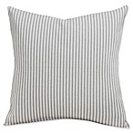 SIScovers® Revolution Plus Everlast Stripe 16-Inch Square Throw Pillow in Greige/Off White