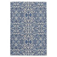 Feizy Manfred Damask 5-Foot 3-Inch x 7-Foot 6-Inch Area Rug in Royal