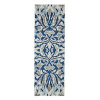 Feizy Manfred 2-Foot 7-Inch x 8-Foot Runner in Blue