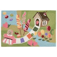 Liora Manne Fun & Sweets 2-Foot 6-Inch x 4-Foot Indoor/Outdoor Accent Rug