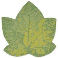 Liora Manne Maple Leaf 3-Foot x 3-Foot Indoor/Outdoor Accent Rug in Green