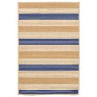Liora Manne Terrace Multi-Stripe 1-Foot 11-Inch x 2-Foot 11-Inch Indoor/Outdoor Accent Rug in Topaz