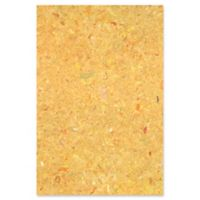 Liora Manne Visions I Quarry 4-Foot 10-Inch x 7-Foot 6-Inch Indoor/Outdoor Area Rug in Yellow