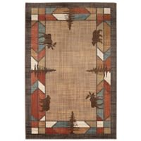 Mohawk Home Destinations Butte Multicolor 8-Foot x 11-Foot Area Rug