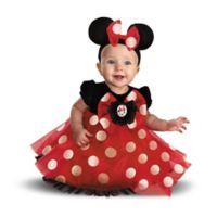 Disney® Minnie Mouse Size 12-18M Infant Halloween Costume in Red