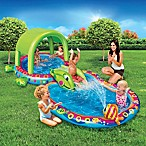 Banzai Shade 'N Slide Turtle Splash Pool