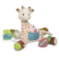 Mary Meyer Sophie la girafe® Activity Plush Toy in White/Brown