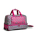 Vera Bradley® Wheeled Carry On in Ditsy Dots