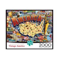 Buffalo Games™ 2000-Piece Vintage America Puzzle